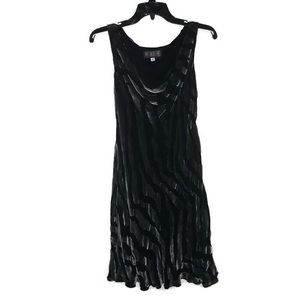 Melinda Eng Women's Black A-Line Dress NWOT